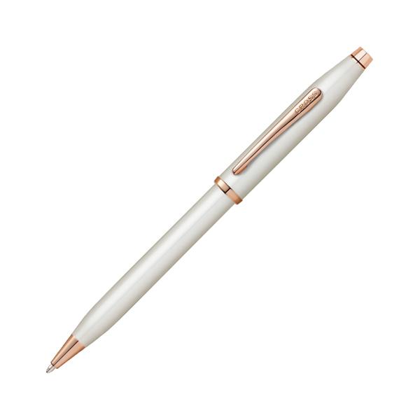 【取り寄せ品】CROSS クロス センチュリーII ボールペン パールホワイトラッカー NAT0082WG-113