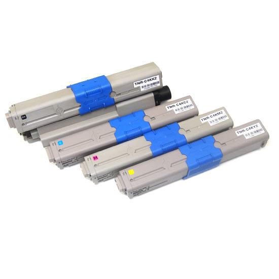 沖電気用(OKI用) TNR-C4K2 リサイクルトナー 大容量4色セット TNR-C4KK2 TNR-C4KC2 TNR-C4KM2 TNR-C4KY2 C511dn/C531dn/MC562dn/MC562dnw