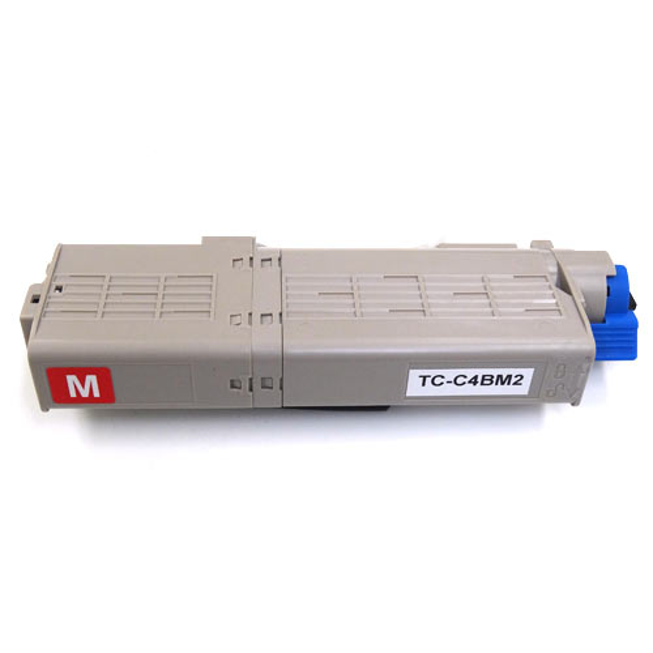 沖電気用(OKI用) TC-C4B2 リサイクルトナー 大容量マゼンタ TC-C4BM2