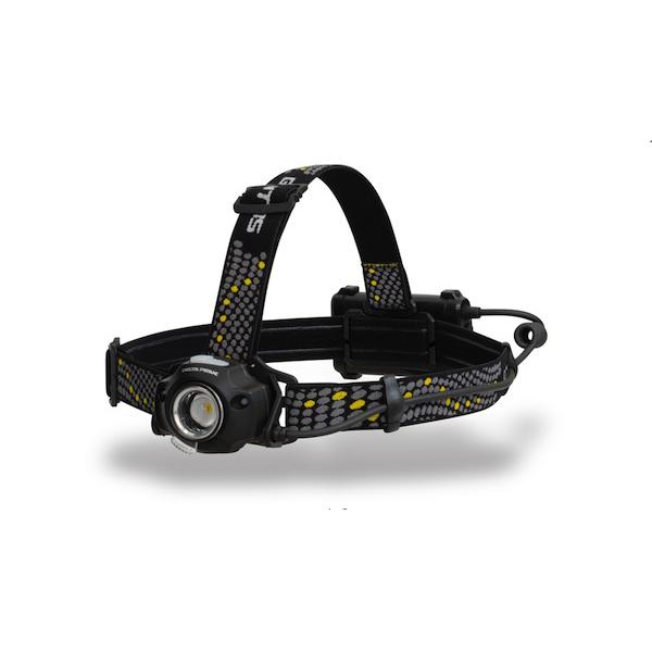 GENTOS/ジェントス LEDヘッドライト デルタピーク 明るさ400-600ルーメン DPX-318H(sb)