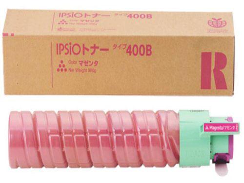 リコー用 イプシオトナー タイプ 400B リサイクルトナー マゼンタ (636669) 【メーカー直送品】 IPSiO CX400/IPSiO SP C411/IPSiO SP C411-ME