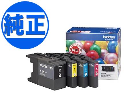 【取り寄せ品】ブラザー工業(Brother) 純正インク LC17インクカートリッジ 4色セット LC17-4PK