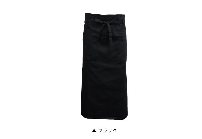 PRISM Uniform  라쿠텐 일본: 소믈리에 앞치마 블랙 심플한 2 포켓 ...
