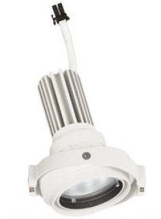 オーデリックLEDスポットライト灯体 システム照明XS413195H 電源装置・調光器・信号線別売ハウジングとの組み合わせにて使用