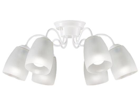 パナソニック LEDシャンデリア40形×6電球色LGB57604K