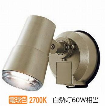 パナソニックLEDアウトドアセンサ付スポットライトLSEWC6001YK(LGWC45001YK相当品)