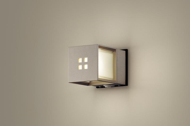 パナソニック LEDセンサ付アウトドアブラケットLGWC85040YZ