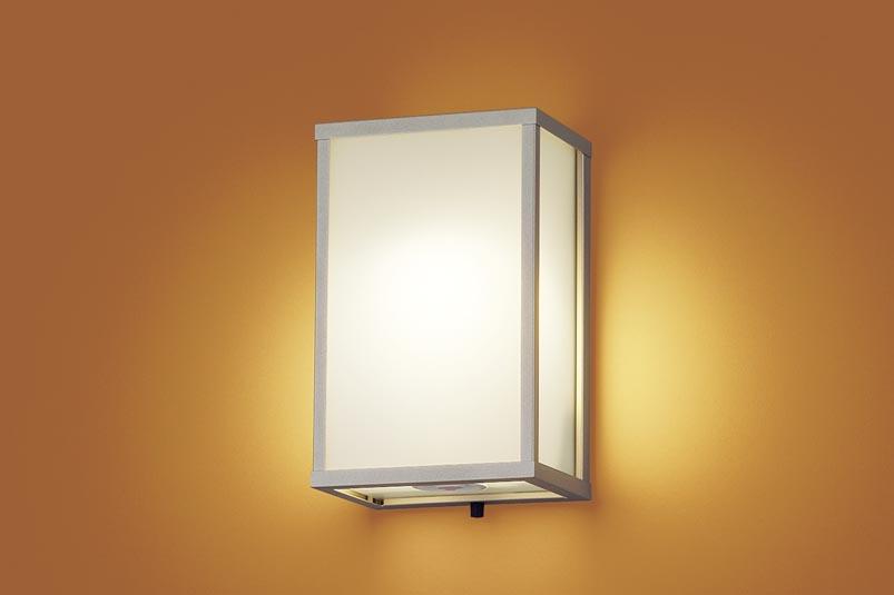 パナソニック LEDセンサ付和風アウトドアブラケットLGWC85086Z