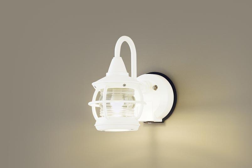 パナソニック LEDセンサ付アウトドアブラケットLGWC85218Z