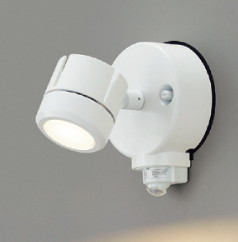 東芝ライテックマルチセンサー付LEDアウトドアスポットライトLEDS87900YL(W)-LS