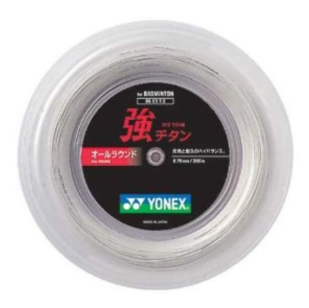メーカー:ヨネックス 激安通販 ヨネックス メイルオーダー YONEX バドミントンストリング BG65TI 200mロール 強チタン