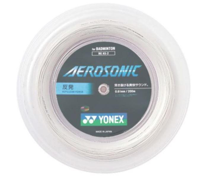 メーカー:ヨネックス ヨネックス YONEX バドミントンストリング BGAS 大放出セール 200mロール エアロソニック 定番の人気シリーズPOINT(ポイント)入荷