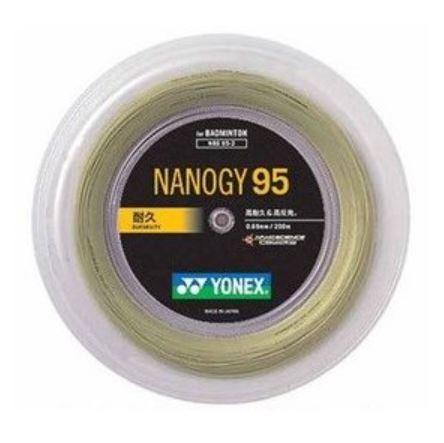 メーカー:ヨネックス YONEX バドミントンストリング 200mロール ナノジー95 海外 NANOGY95 高価値