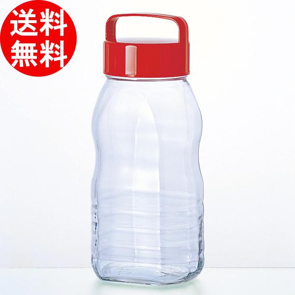 【日本製】ペットボトル型貯蔵びんシリーズ / ペット型ノッポさん (2000ml) [12個入り] アデリア 【smtb-F】 送料無料