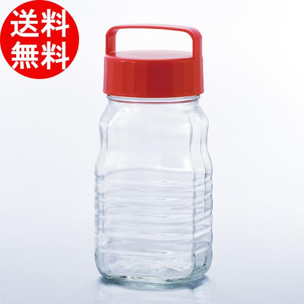 【日本製】ペットボトル型貯蔵びんシリーズ / ペットボトル型貯蔵びん1.2L小分けちゃん (1200ml) [12個入り] アデリア 【smtb-F】 送料無料