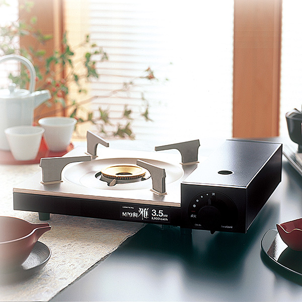 Iwatani (Iwatani) tabletop stove cast Fu ya (MIYABI ) CB-WA-35 fs3gm