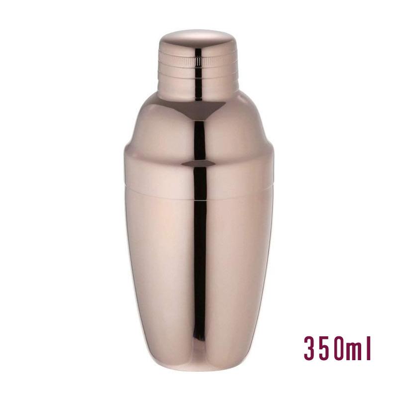 <セール&特集> 淡いピンク色のカクテルシェーカー 定番サイズ スーパーセール 新色追加 クーポン カクテルシェーカー 350mlステンレス ピンクゴールド