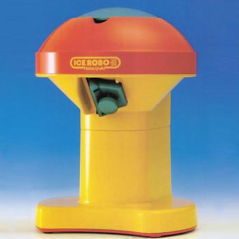 あす楽対応 かき氷機 電動 アイスロボ 家庭用アイスシェーバー かき氷器