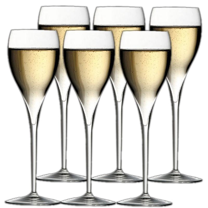 イタレッセ champagne glass and you get a 6 piece set fs3gm