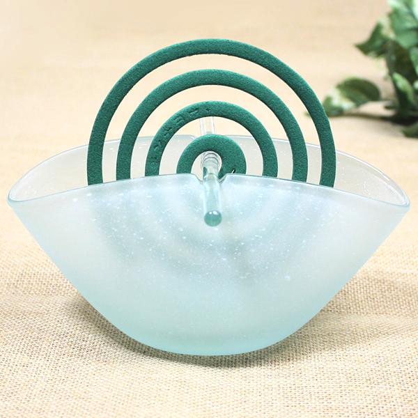 巴厘玻璃制造蚊香蚊香持有人局弗罗斯德