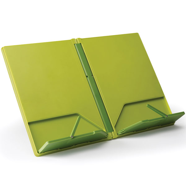 Joseph Joseph Recipe Book Stand Green Recipe Stand, Music Stand, Tablet  Holder And Tablet
