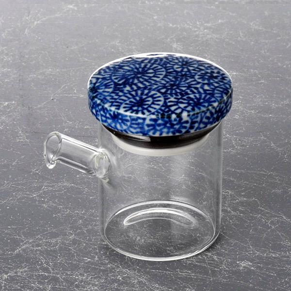ブランド品 液もれしない和風のオシャレなしょうゆ差し ガラス 波佐見 液だれしない 醤油さし 陶器 人気ショップが最安値挑戦 小しょうゆさし 調味料入れ 蛸唐草 蓋