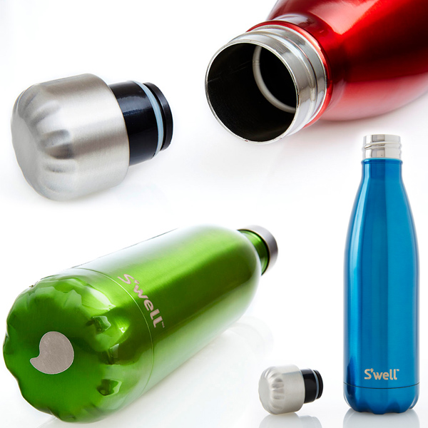S ' well ( swell ) クラシックスウェル plastic bottles-bottles (500 ml) black canteen / insulated / thermal insulation / stainless steel / sports bottle / lightweight / outdoors