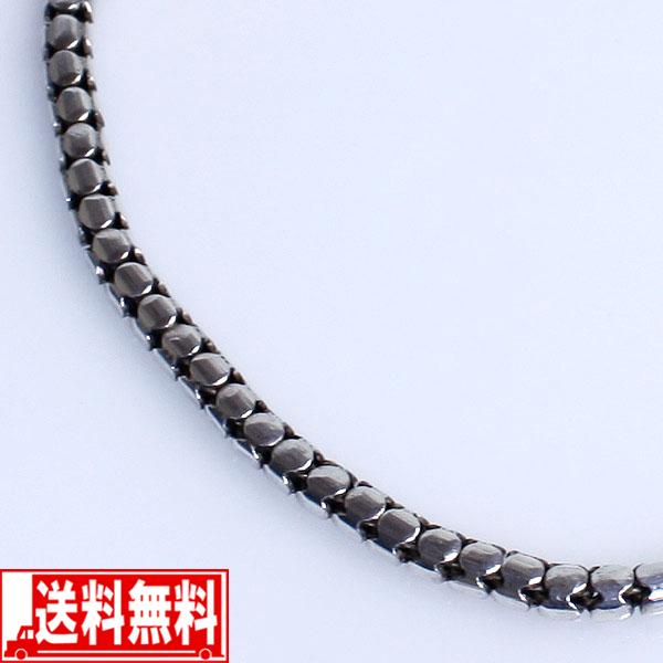 スネークチェーン 45cm メンズネックレス シルバー925【smtb-F】 送料無料