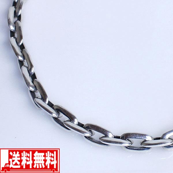 ハードチェーン(53cm)メンズネックレス・シルバー925【smtb-F】 送料無料