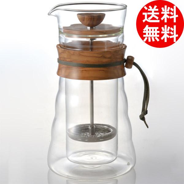 ハリオ V60 ダブルグラス コーヒープレスコーヒー フレンチプレス コーヒーメーカー hario 【smtb-F】 送料無料