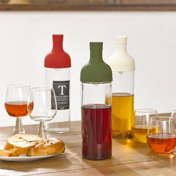 Hario フィルターイン bottles (red) water for hot tea / water out green tea pot tea pots and wine types / hario 10P13Dec13 upup 7