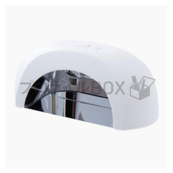 ジェルネイル LED ライト 6W コンパクト リフレクトミラー付