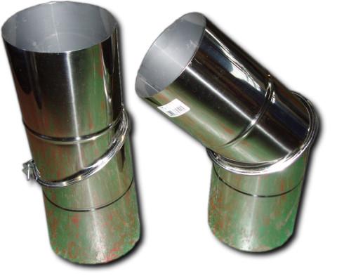 暖房用品 メーカー手配品 薪ストーブのお供にステンレス煙突 ステンレス煙突 自在曲り 贈物 3寸5分 往復送料無料 約106mm
