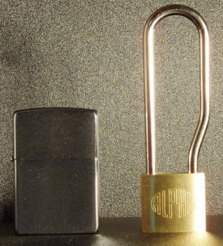 アルファ(ALPHA)吊長 南京錠 30mm(同一キー)吊寸法71mm6個セット