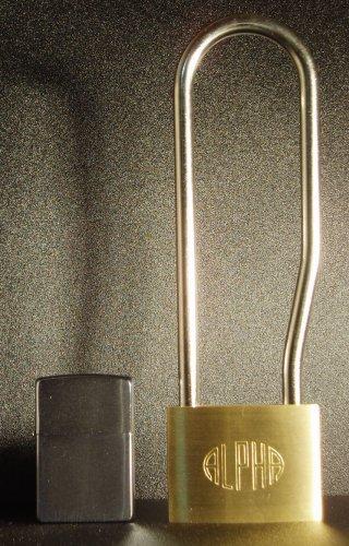 アルファ(ALPHA)吊長 南京錠 60mm(同一キー)吊寸法144mm3個セット