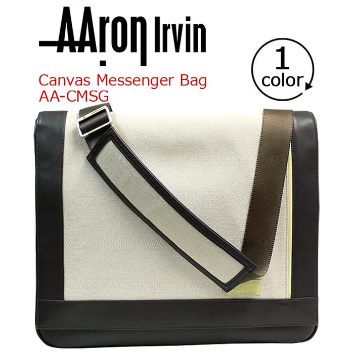 【イベント期間中ポイント10倍】 AAron Irvin アーロン・アーヴィン ビジネスバッグ メッセンジャーバッグ バッグ かばん 送料無料 メンズ 通勤 おしゃれ 人気 CMSG-IV