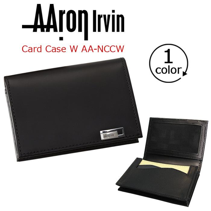 【イベント期間中ポイント10倍】 AAron Irvin アーロン・アーヴィン カードケース 名刺入れ 送料無料 メンズ 通勤 おしゃれ 人気