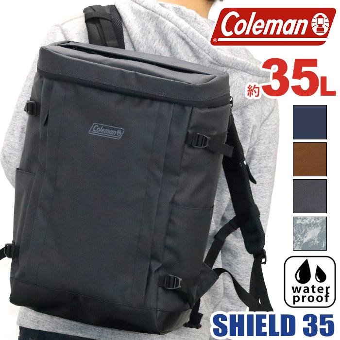 2e0e3886f526 【ポイント10倍】 Coleman コールマン 正規品 SHIELD35 シールド35 リュック リュックサック バック