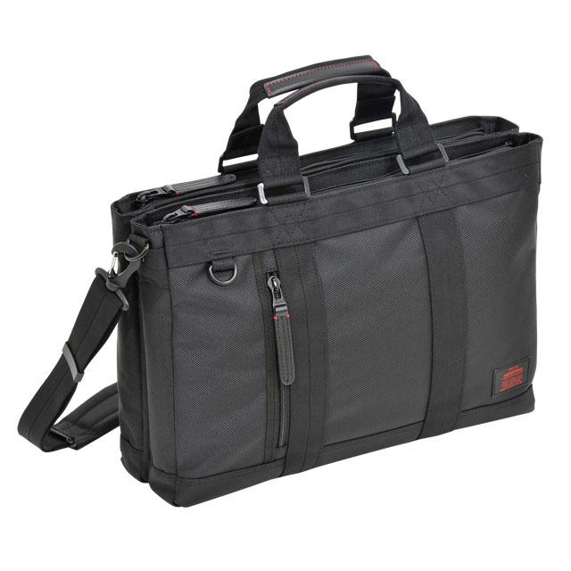 NEOPRO RED Wトートビジネス / ネオプロ レッド ショルダー 手提げ 2ルーム PC パソコン タブレット 収納 キーハーネス キャリーにセット カジュアル ビジネス 多機能 ナイロン 革 エンドー鞄