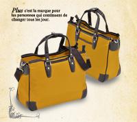 PLUS GRAIL トートブリーフ3ルーム / プリュス グレイル ショルダー タブレット PC 収納 書類ポケット ボトルポケット ベルト付 エンドー鞄