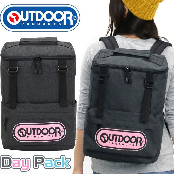 86d6ccdca1e9 OUTDOOR PRODUCTS アウトドア プロダクツ デカロゴシリーズ スクエアリュック リュックサック デイパック バックパック メンズ  レディース 男女