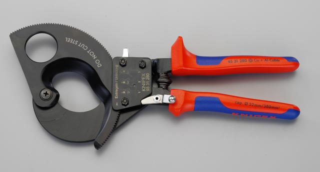 クニペックス(KNIPEX)ケーブルカッター280mm9531-280 9531280