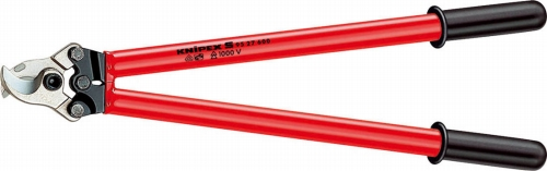クニペックス(KNIPEX)絶縁ケーブルカッター600mmディップコーティング9527-600 9527600