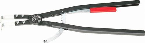 クニペックス(KNIPEX)穴用スナップリングプライヤー252-400mm90°ベントヘッド4420-J61 4420J61