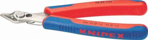 7803-125 クニペックス KNIPEX エレクトロニクススーパーニッパー125mmステンレスヘッド7803-125 ☆送料無料☆ 当日発送可能 セットアップ 7803125