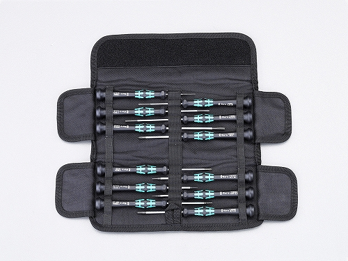 Wera精密ドライバー12本セット オリジナルケース付Kraftform Micro-Set/12SB 073675