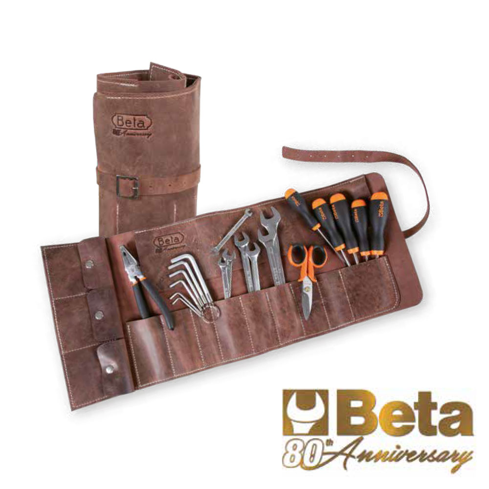 Beta(ベータ)80周年記念モデル本革ツールケース付きツールセット2001B4/B20-80