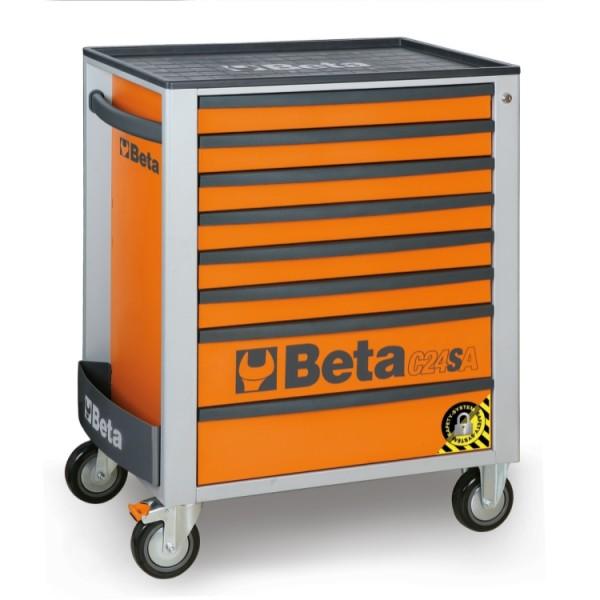Beta(ベータ)ツールキャビネット8ドロアーC24SA/8-O