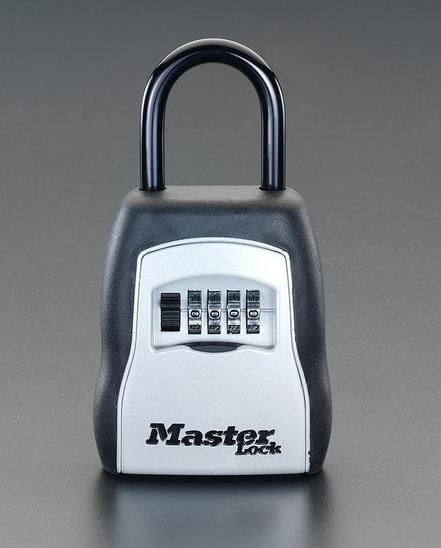 MASTERLOCK マスターロックダイヤル式キーボックス(防犯 施錠 鍵 セキュリティ)5400D EA983ZA-1