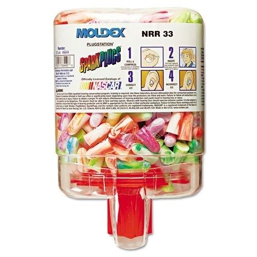 MOLDEX耳栓6644スパークプラグディスペンサータイプ【250組】
